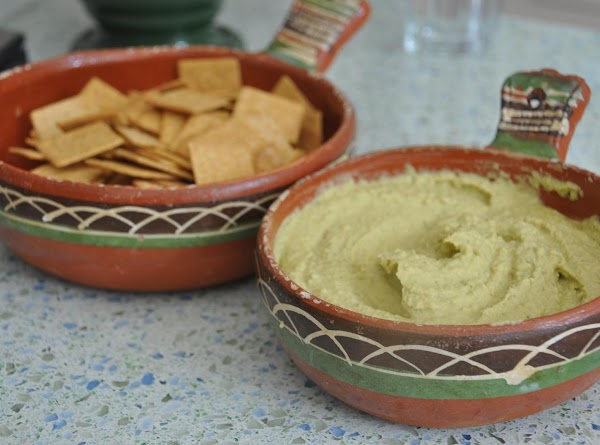 Serve with crackers, pita bread or tortilla chips. Enjoy!