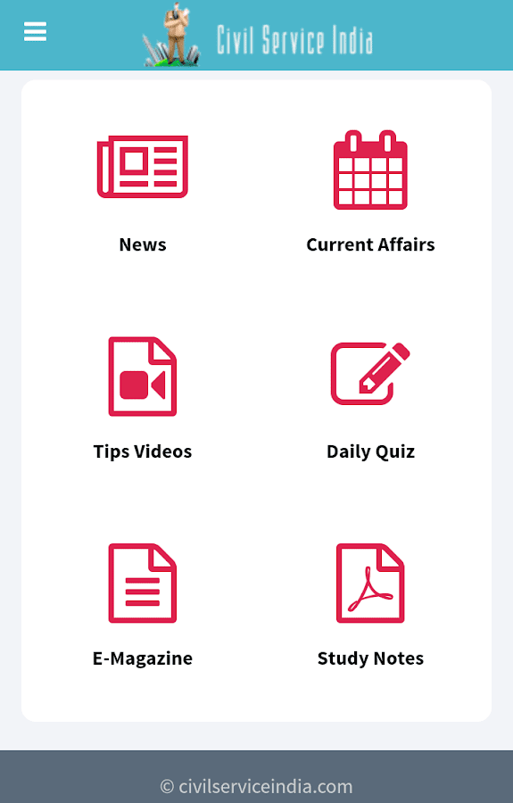 IAS APP by Civil Service India- screenshot