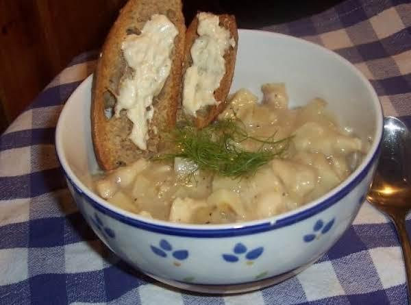 Tina's Fish Stew With Lemon Aioli Recipe