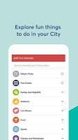 screenshot of Events High - Meet Your City!