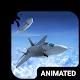 Jet Flight Animated Keyboard + Live Wallpaper Download on Windows