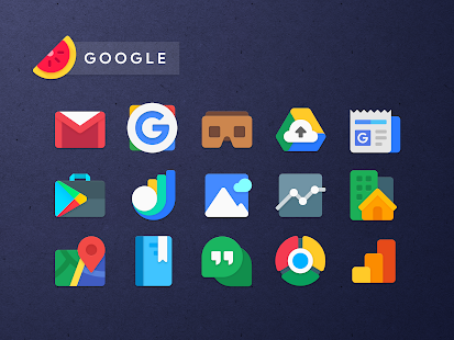 Sliced Icon Pack Screenshot
