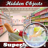objets cachés supermarché