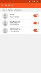 Call recorder- miniatura screenshot