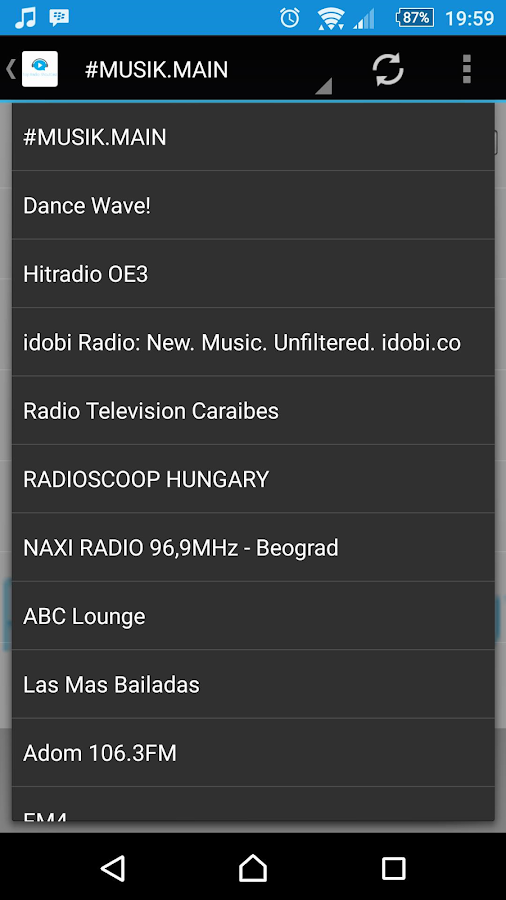 Top Radio ShoutCast- screenshot
