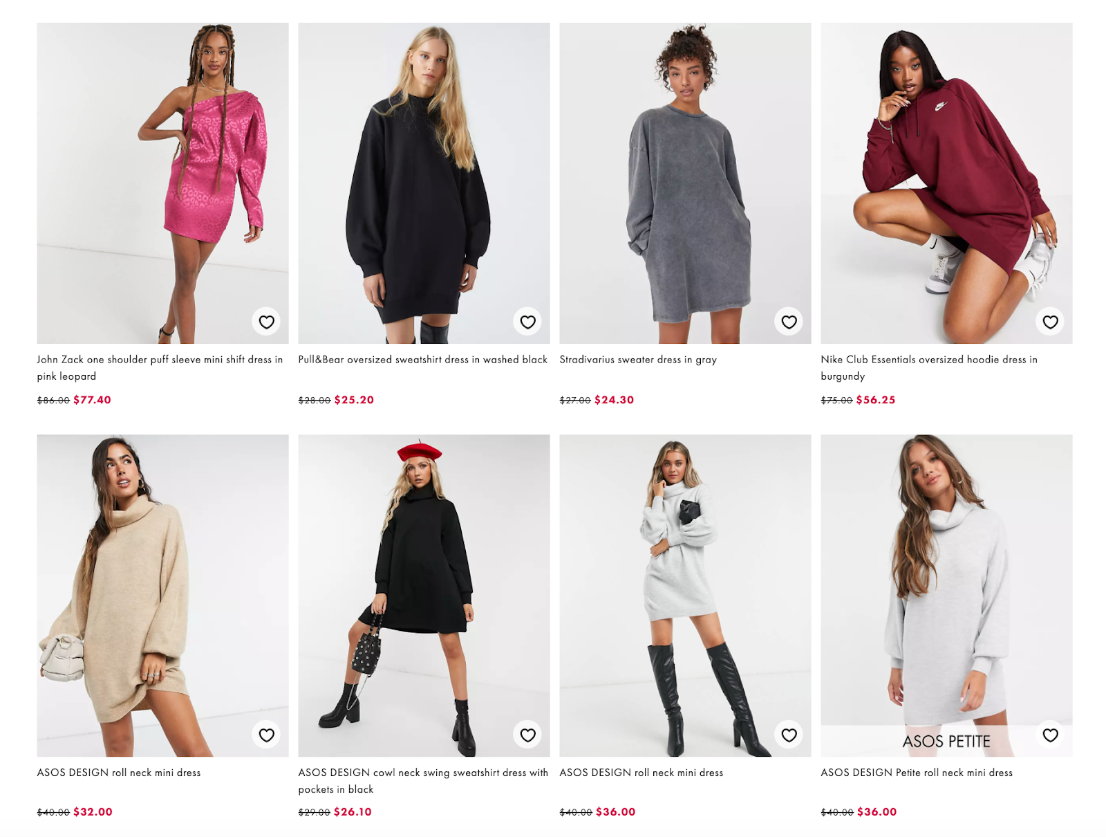 Asos product photography