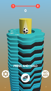 Bouncing Stack Ball Games: Drop Helix Blast Queue 1.0.1 APK + Mod (Free purchase) for Android