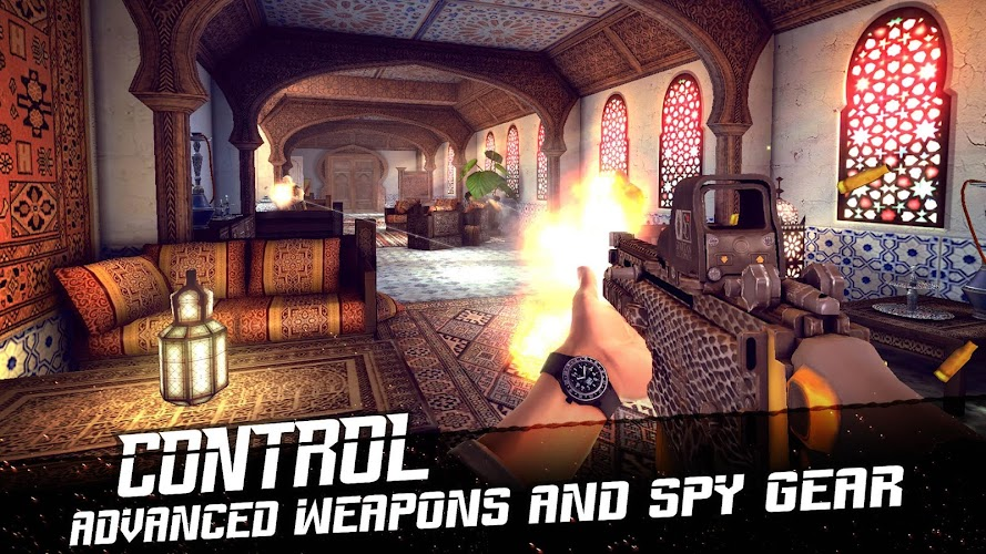Mission Impossible RogueNation APK v1.0.1 Mega Mod - screenshot