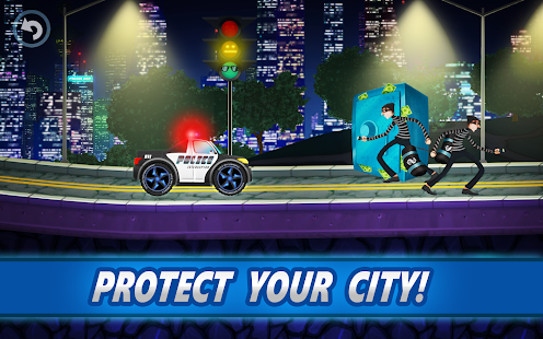 Police car racing for kids- screenshot thumbnail