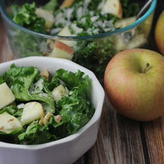 Kale Salad with Apples and Walnuts