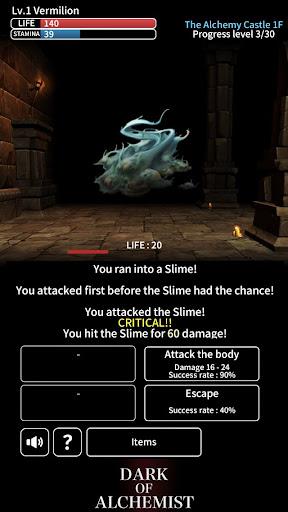 Dark of Alchemist - Dungeon Crawler RPG 1.2.2 screenshots 3
