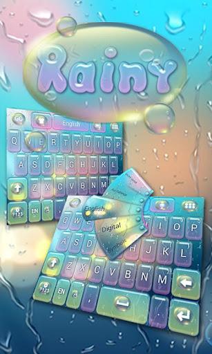 Rainy GO Keyboard Theme