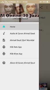 Al Quran Ahmad Saud Full Mp3 - náhled