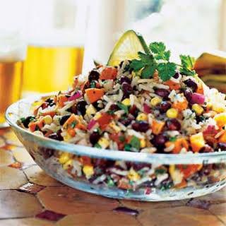 Black Bean, Rice, and Veggie Salad.