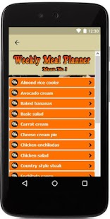 Weekly Meal Planner & Recipes- screenshot thumbnail