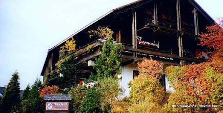 Photo: Oktober 2003. St. Andreasberg. Tannenhof.