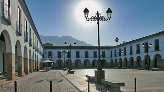La Plaza Porticada es una de las áreas wifi.