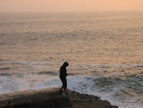 Photo: Pazifikküste, Klippenspringer