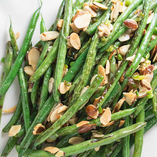 Pan-Roasted Green Beans & Almonds.