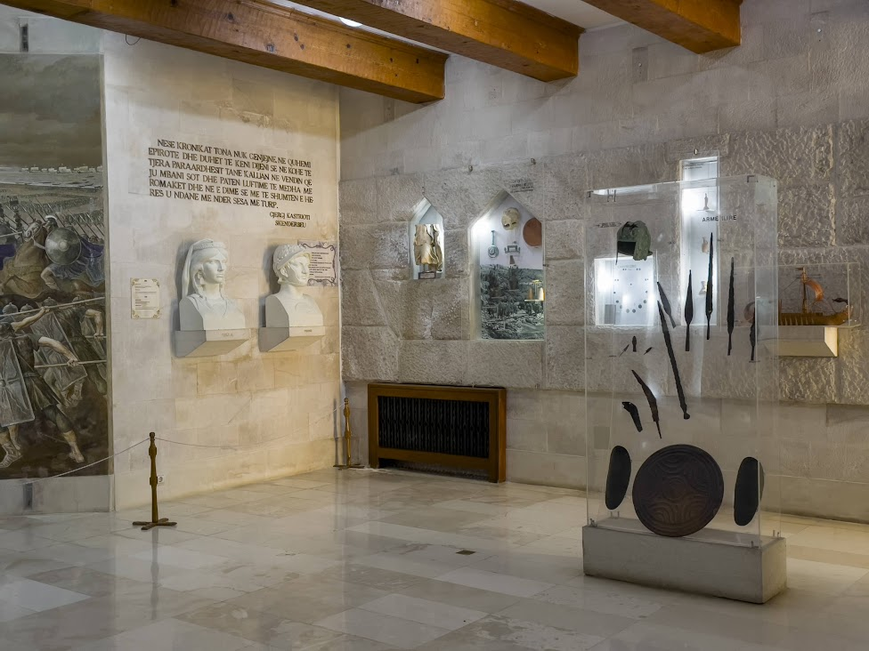 Muzeum Skanderbega na zamku w Krui