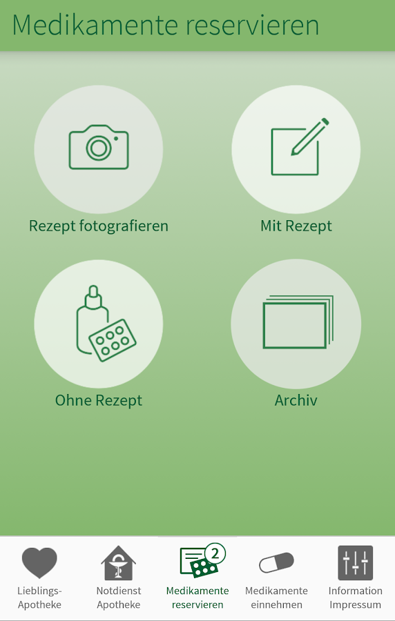 ApothekenApp- screenshot