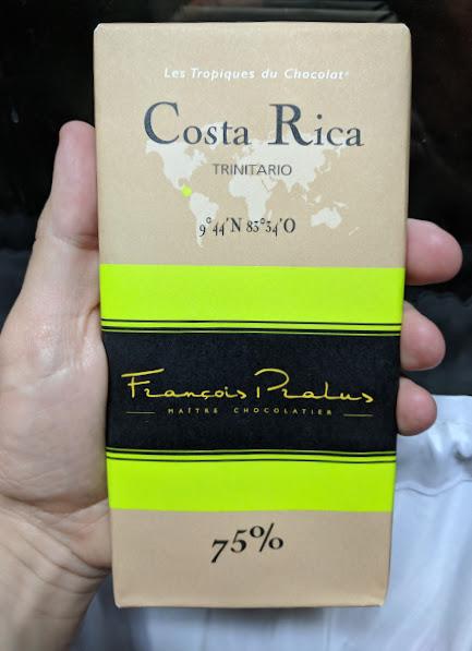 75% costa rica pralus bar