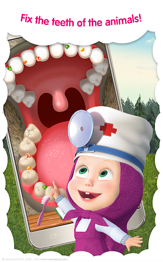 Masha and the Bear: Vet Clinic 3.21 screenshots 12