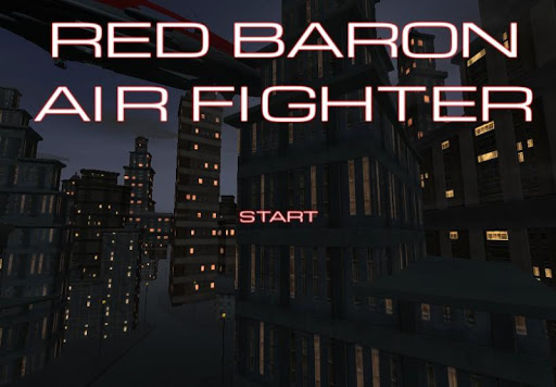RED BARON AIR FIGHTER
