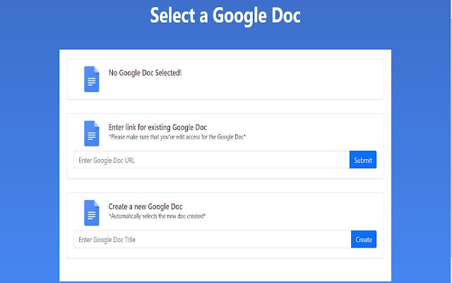 Collate - Collation tool for Google Docs