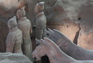 Photo: Day 188 -  Terracotta Warriors in Xi'an  Pit 1 #9