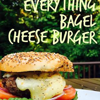 Everything Bagel Cheese Burger.