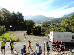 Photo: Avituallamiento, en la bajada del Col de Soudet no hubo fotos.