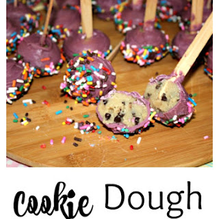 Cookie Dough Truffle Pops