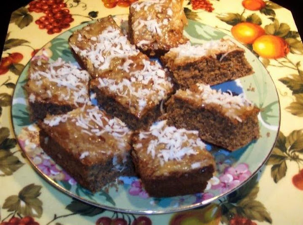Mocha Whipping Cream  Cake -coconut Pecan Frosting Recipe