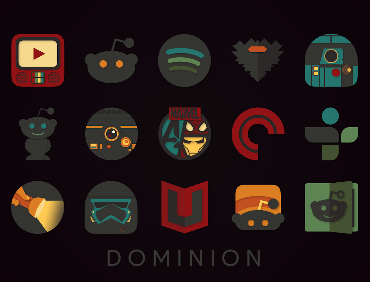 Dominion Icon Pack - 屏幕截图