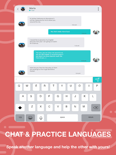 Match - Languages - Meetings - Friends: Leeve 3.4.0 screenshots 9