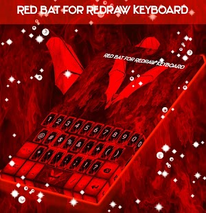 Red Bat for Redraw Keyboard - náhled