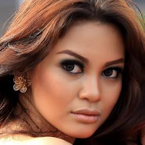 beautiful girl by Chusnul Hidayat - People Portraits of Women