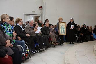 Photo: Otec kardinál Tomko dostal na poďakovanie obraz Nepoškvrnenej.