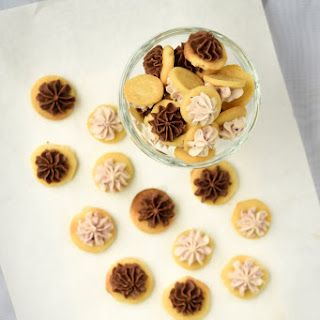 Frosted Gem Butter Cookies