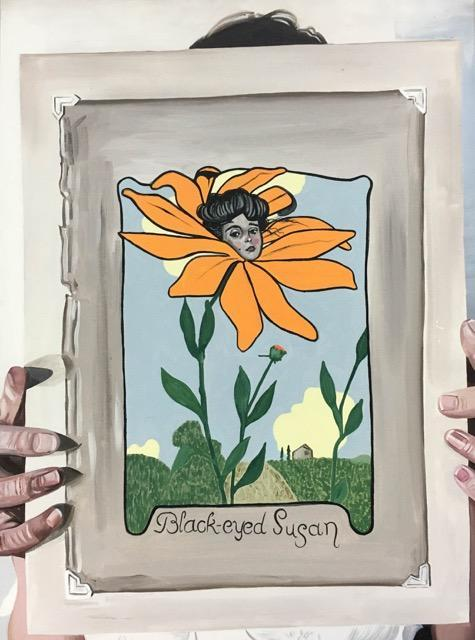 Cristine with Black-eyed Susan, 2017