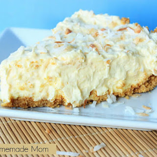 Toasted Coconut Pudding Pie