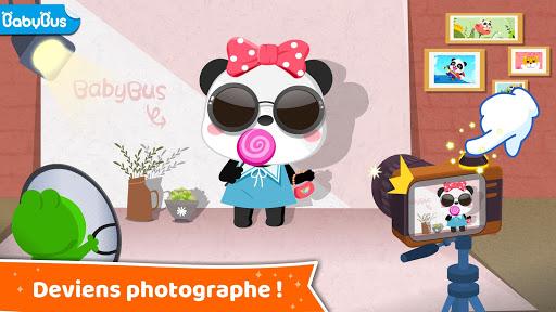 Le métier de rêve de Bébé Panda fond d'écran 1