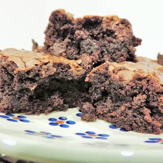 Gooey Chocolate Brownies.