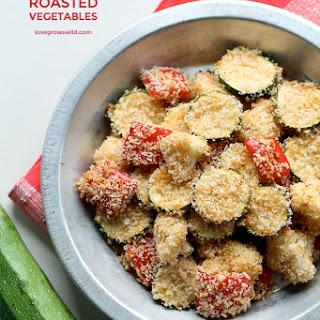 Parmesan Roasted Vegetables.