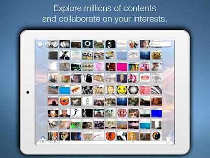 Pearltrees - Organize anything- screenshot thumbnail