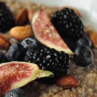 Brown Rice Breakfast Porridge.