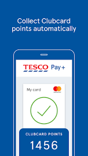 Tesco Pay+ for simple checkout- screenshot thumbnail