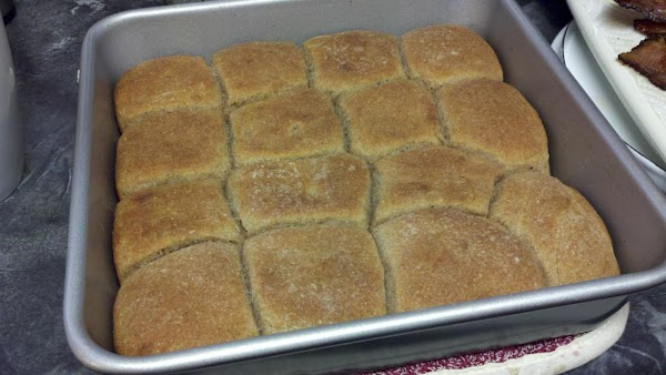 Bake in 350 to 375 degree oven until biscuits are brown (check after 20...