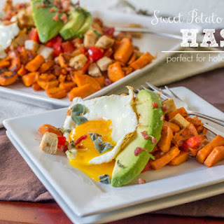 Sweet Potato & Turkey Hash #15MinuteSuppers.